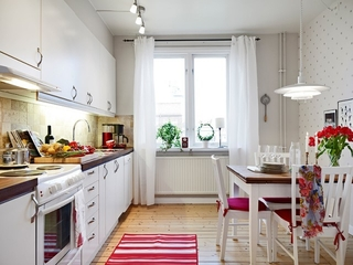 67平北欧住宅欣赏厨房