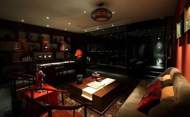 雅致中式住宅欣赏客厅设计