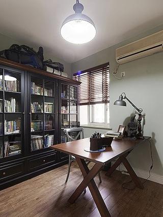 90平三室两厅住宅欣赏书房