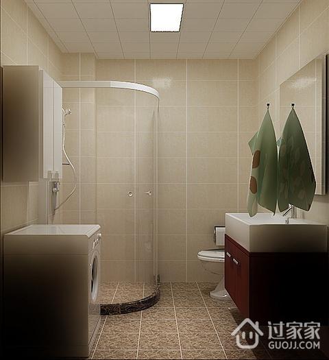 卫生间吊顶装修效果图 精致现代家居