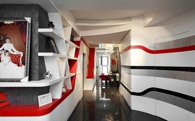 极致个性现代住宅欣赏过道设计