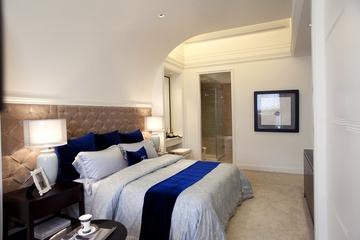 新古典三居室样板房案例欣赏卧室灯饰