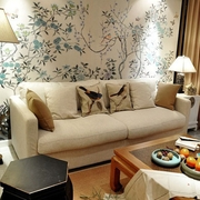 118平新中式美家欣赏客厅