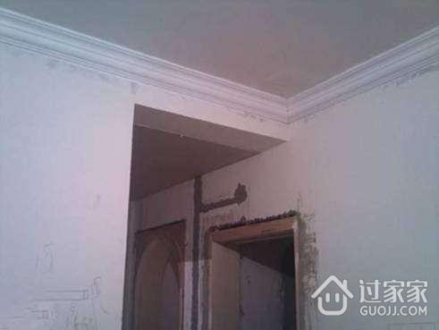 石膏顶角线如何正确安装高清图片