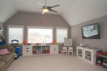 现代风格设计别墅套图儿童房设计