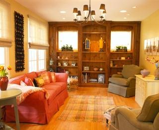 美式田园风格套图起居室