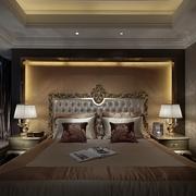 奢华新古典风主卧床头灯