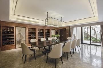 225平新古典别墅设计欣赏餐厅设计图