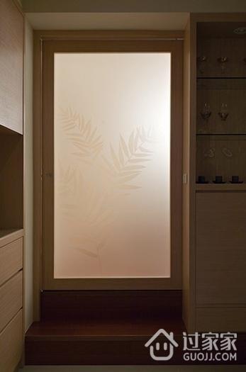 122平简约三居室欣赏室内门