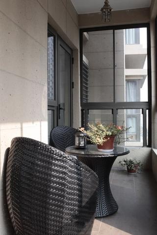 美式雅居住宅欣赏阳台