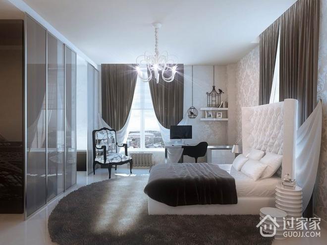 豪华现代梦幻住宅欣赏卧室