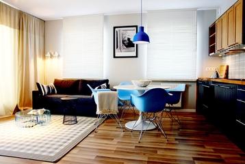 复古装饰现代住宅欣赏客餐厅