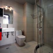 现代风格装修设计卫生间