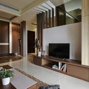 日式禅风三居室欣赏客厅
