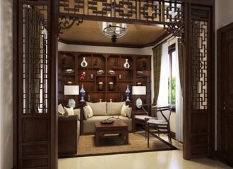 美式奢华金典家居生活欣赏客厅