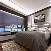 奢华新古典样板房欣赏卧室飘窗设计