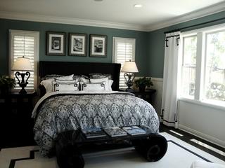 新古典样板间套图卧室