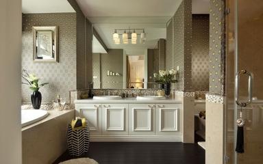 新古典别墅效果图洗手间