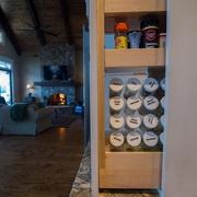 现代风格别墅套图厨房收纳柜