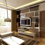 107平简约三居室设计欣赏客厅背景墙