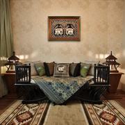 东南亚泰式风格沙发背景