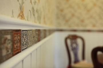 美式风三居室雅居欣赏背景墙