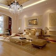 113平简欧三居室欣赏客厅设计
