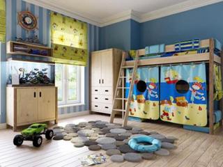合适的色彩搭配更有利于孩子的成长,儿童房彩绘装修注意事项