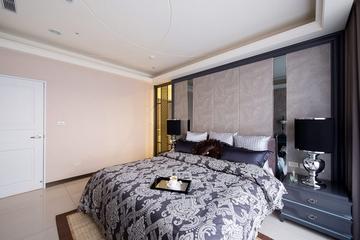 130平新古典大三居欣赏卧室