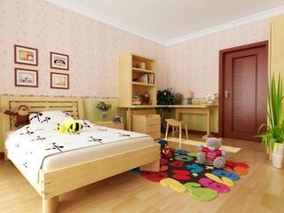 现代中式温馨住宅欣赏儿童房