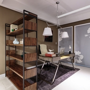 现代风格大空间设计欣赏书房