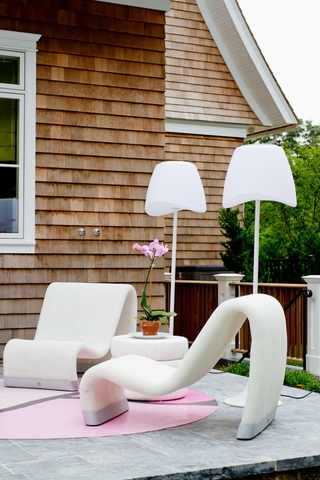 欧式别墅风格效果套图庭院设计