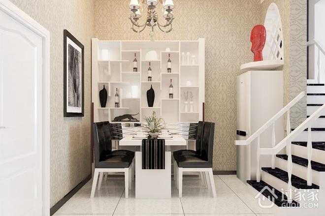 94平现代复式住宅欣赏餐厅效果