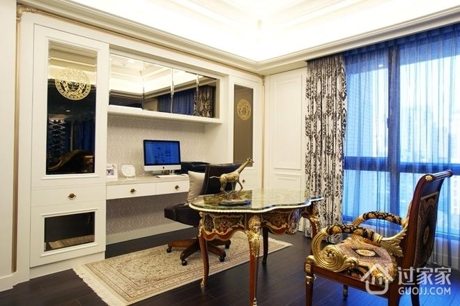 120平新古典三室两厅欣赏书房