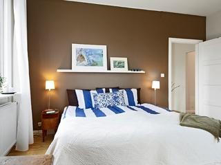 白色基调宜家住宅欣赏卧室