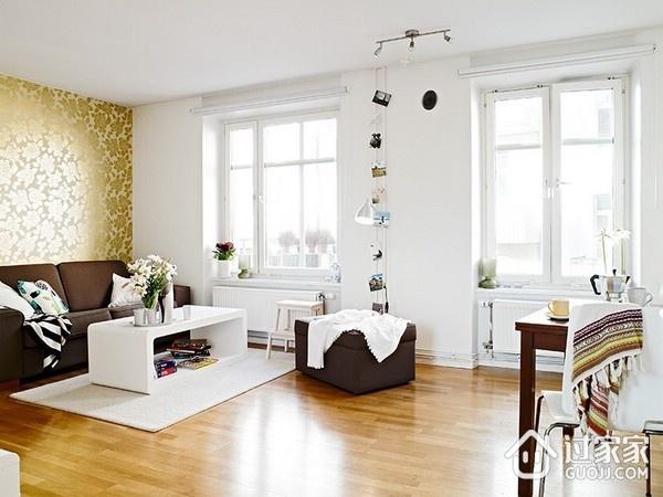 白色北欧一居室案例欣赏