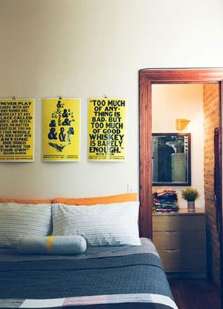 70平小公寓设计欣赏卧室