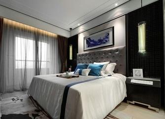 混搭风格效果图复式欣赏卧室效果