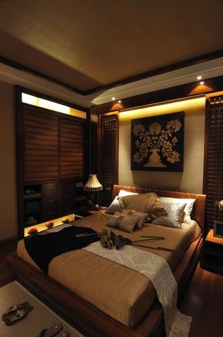 东南亚设计卧室全景设计