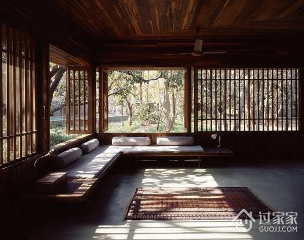 现代风格别墅禅室