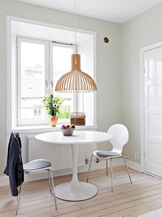 70平白色北欧住宅欣赏