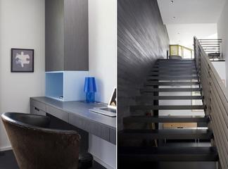 现代黑白雅居住宅欣赏卧室局部