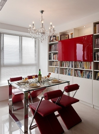 白色现代风住宅欣赏餐厅设计