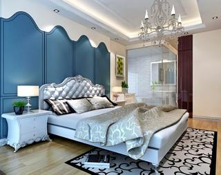 地中海温馨住宅案例欣赏卧室