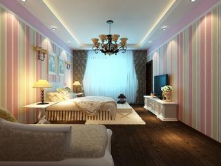 田园风情住宅欣赏卧室