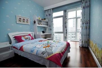 简约家居温馨三居室欣赏儿童房
