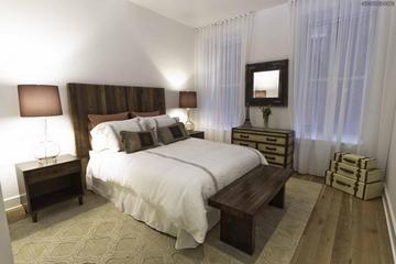 美式优雅三居室欣赏卧室灯
