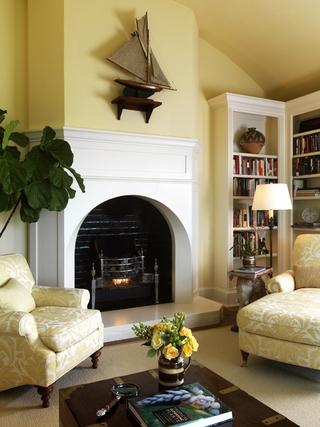 法式私人庄园欣赏客厅