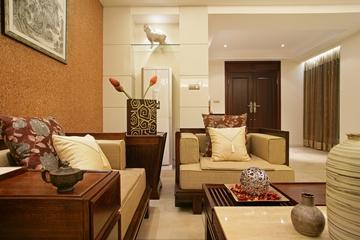 中式装修设计客厅图片大全