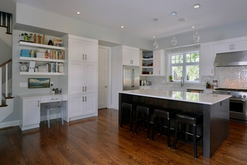 现代风格装饰别墅赏析厨房过道